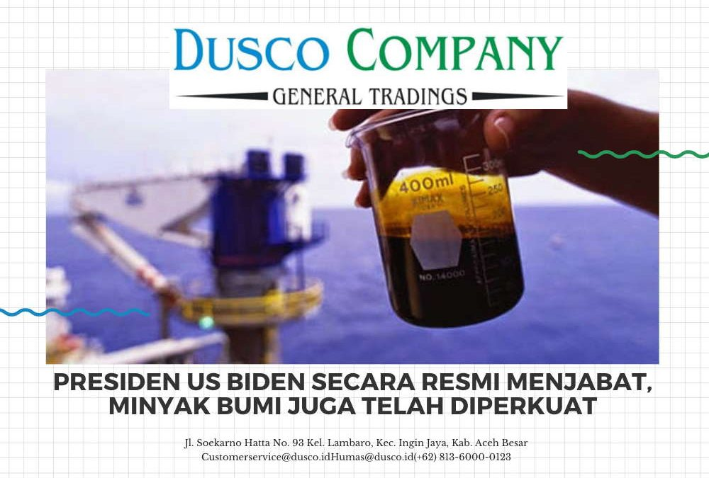 Presiden US Biden secara resmi menjabat, minyak bumi juga telah diperkuat